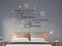 Wandtattoo Nimm dir die Zeit um zu träumen | Bild 4