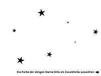 Wandtattoo Greife nach den Sternen Motivansicht