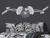 Wandtattoo Blütenkunst | Bild 2