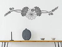 Wandtattoo Blütenkunst | Bild 3