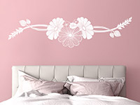 Wandtattoo Blütenkunst | Bild 4
