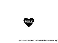 Wandtattoo Familienstern Motivansicht
