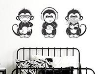 Wandtattoo Coole Affen | Bild 4