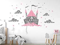 Wandtattoo Schloss in den Wolken | Bild 2