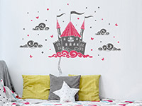 Wandtattoo Schloss in den Wolken | Bild 3