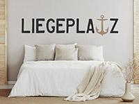 Wandtattoo Liegeplatz | Bild 3