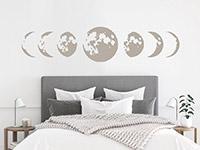 Wandtattoo Mondphasen | Bild 3