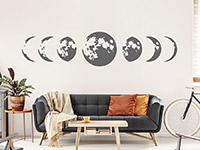 Wandtattoo Mondphasen | Bild 4