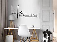Wandtattoo Modernes Life is beautiful | Bild 4