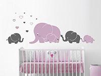 Wandtattoo Elefantenfamilie | Bild 2