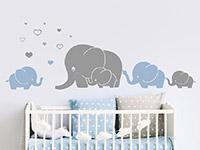 Wandtattoo Elefantenfamilie | Bild 3