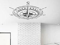 Wandtattoo Deckenkompass | Bild 2