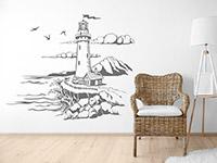 Wandtattoo Leuchtturm am Meer | Bild 4