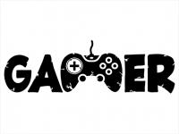 Wandtattoo Gamer Motivansicht