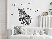 Wandtattoo Zebra   Bild 2