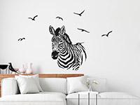 Wandtattoo Zebra   Bild 3