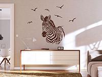 Wandtattoo Zebra   Bild 4