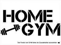 Wandtattoo Home Gym Motivansicht
