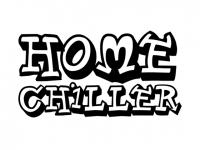 Wandtattoo Home Chiller Motivansicht