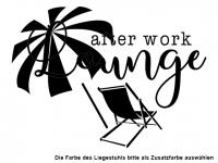 Wandtattoo After work Lounge Motivansicht