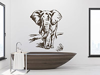Wandtattoo Elefant | Bild 4