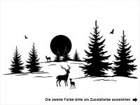 Wandtattoo Waldstimmung Motivansicht