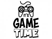 Wandtattoo Game Time Motivansicht