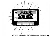 Wandtattoo Lovetape Motivansicht