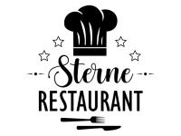 Wandtattoo Sterne Restaurant Motivansicht