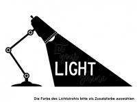 Wandtattoo Let your light shine Motivansicht