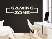 Wandtattoo Gaming Zone im Kinderzimmer