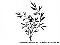Wandtattoo Elegante Gräser Motivansicht
