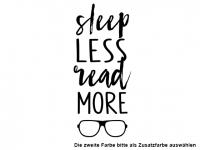 Wandtattoo Sleep less Motivansicht