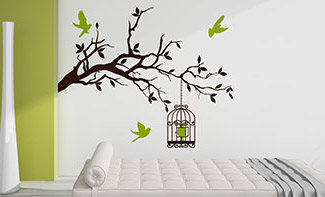 wandtattoo de kreative wandtattoos made in germany. Black Bedroom Furniture Sets. Home Design Ideas