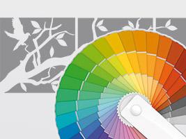 Wandtattoo Farben Ral Farben Diese Farben Gibt Es