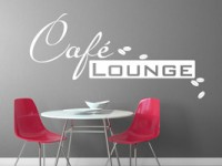 Wandtattoo Moderne Cafe Lounge