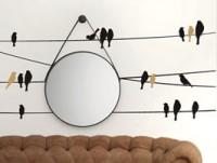 Wandtattoo Um Spiegel