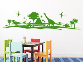 Wandtattoo im kindergarten ideen deko tipps for Raumgestaltung zeichnen