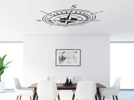 Wandtattoo Kompass Fur Die Decke Kreative Ideen Von Wandtattoo De