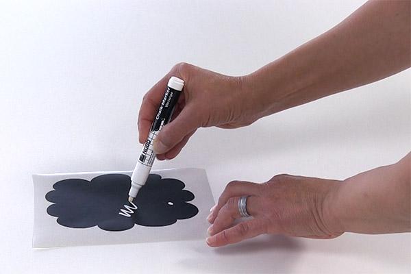 tafelfolie anleitung zum anbringen beschriften. Black Bedroom Furniture Sets. Home Design Ideas