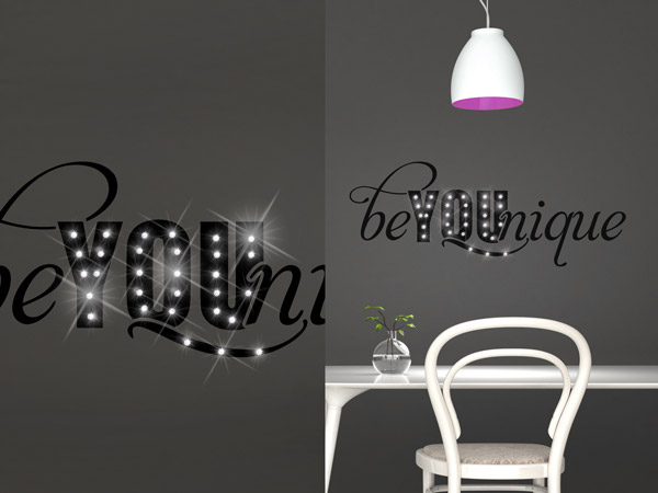 wandtattoo mit glitzer prinsenvanderaa. Black Bedroom Furniture Sets. Home Design Ideas