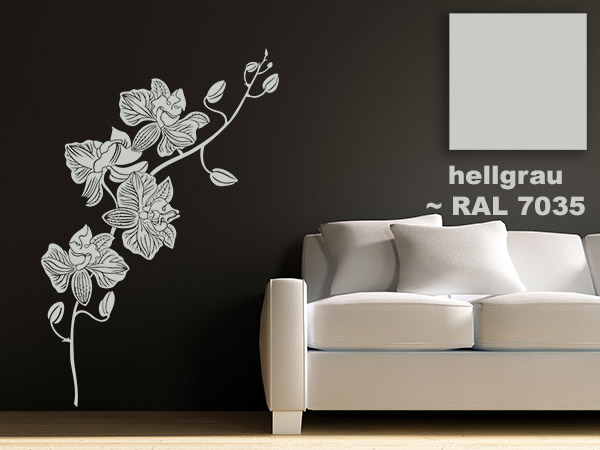 wandtattoo farben ral farben diese farben gibt es. Black Bedroom Furniture Sets. Home Design Ideas