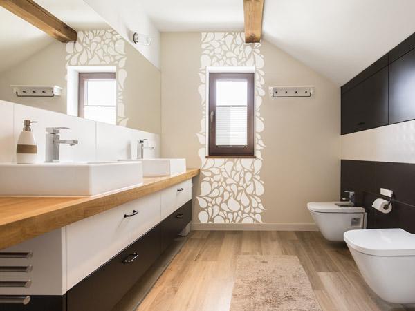 Beige wohnideen naturfarben zum wohnen - Wandfarbe badezimmer ...