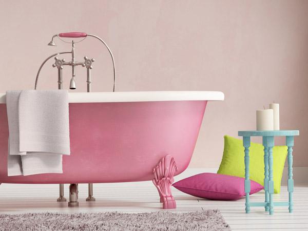 badezimmer-rosa