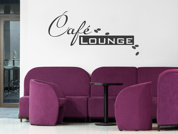 Wandtattoo Cafe Lounge