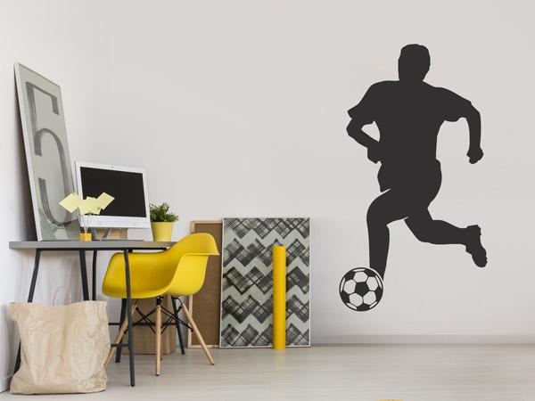 Fußball, Musik U0026 Zocken   Hobbys Als Deko Im Jugenzimmer. Jungenzimmer  Ideen Fußballer Wandtattoo