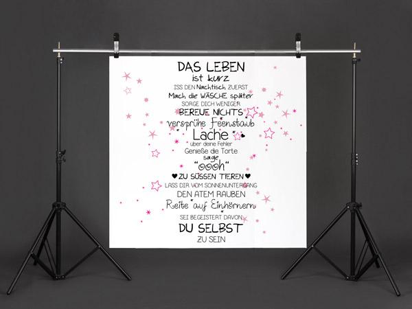 Photo Booth Hintergrund Mit Wandtattoos Selbst Gestalten