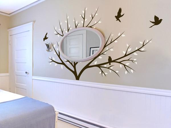 Für Baum Umarmer: Spiegel In Der Baumkrone