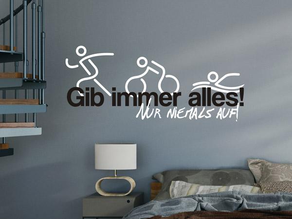 sport wandtattoos fu ball handball fitness etc. Black Bedroom Furniture Sets. Home Design Ideas