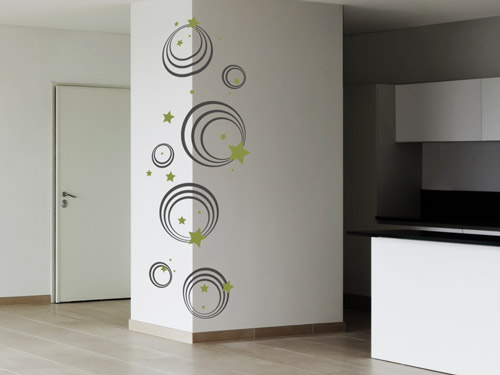 wandtattoo ber eck kleben reuniecollegenoetsele. Black Bedroom Furniture Sets. Home Design Ideas